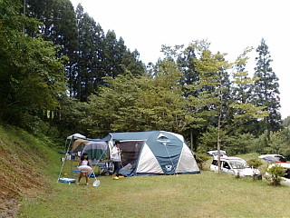 清流キャンプ場